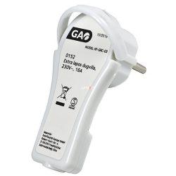 GAO földelt lengő dugó 250V 16A IP20 0152H