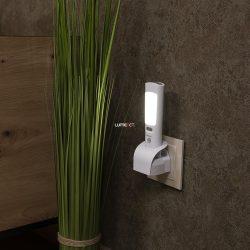 Müller Licht 27700012 Minerva éjszakai LED lámpa + kézi lámpa 4W Li-ion akkuval