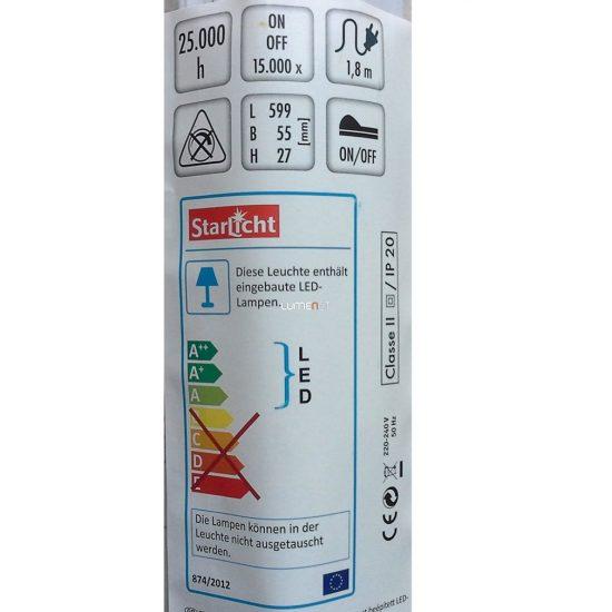 Müller Licht 20900282 Naxos pultmegvilágító LED lámpa 10W 4000K 700lm IP20 599x55x27mm