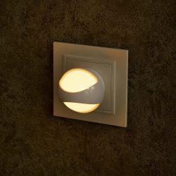 Müller Licht 27700018 Amber Sensor éjszakai LED lámpa alkonykapcsolóval