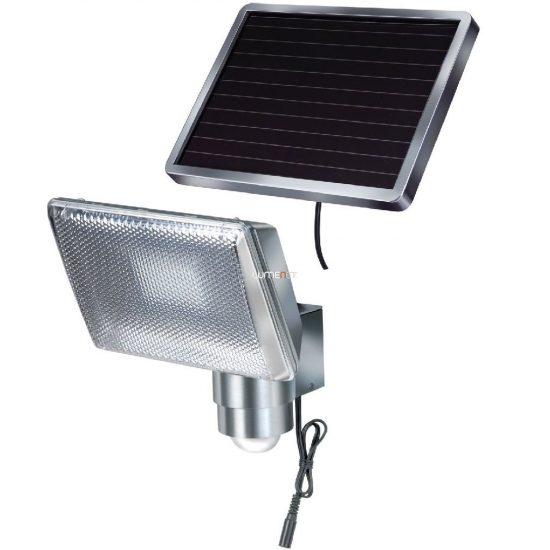 Brennenstuhl 1170840 napelemes LED falilámpa, IP44, mozgásérzékelővel 350lm, 4,75m kábel, alu