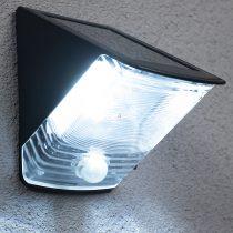 Brennenstuhl 1170970 napelemes LED falilámpa mozgásérzékelővel 2x0,5W