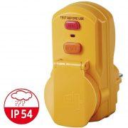 Brennenstuhl életvédelmi relé dugalj 230V 30mA IP54 1290660