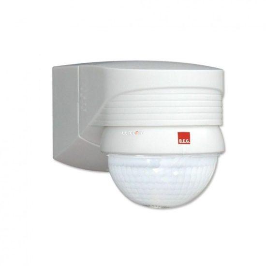 B.E.G. LUXOMAT LC-PLUS 280 fali kültéri mozgásérzékelő 280°, fehér, 91008