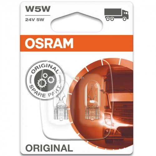 Osram Original Line 2845 W5W 24V műszerfal jelzőizzó 2db/bliszter