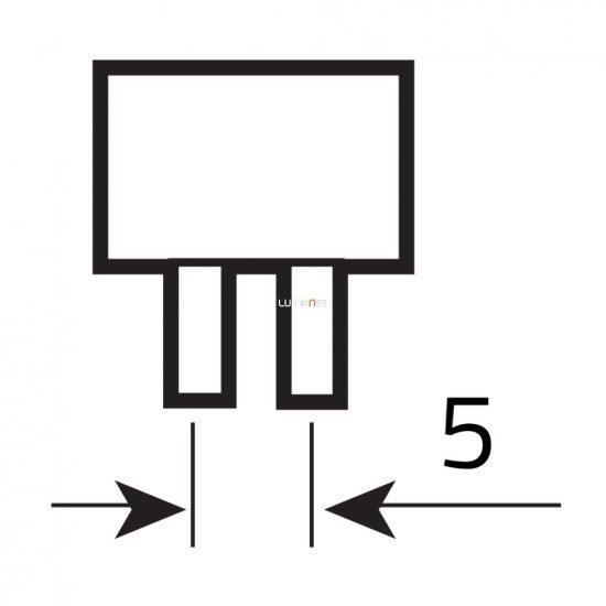 OSRAM HNS T5 4W G5 ózon mentes germicid fénycső 136mm