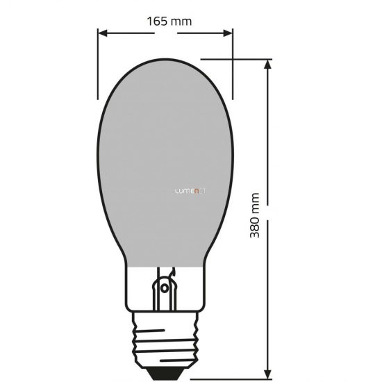 OSRAM Powerstar HQI-E 1000W/N E40 COATED