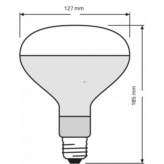 OSRAM ULTRA-VITALUX 300W 230V E27 UV