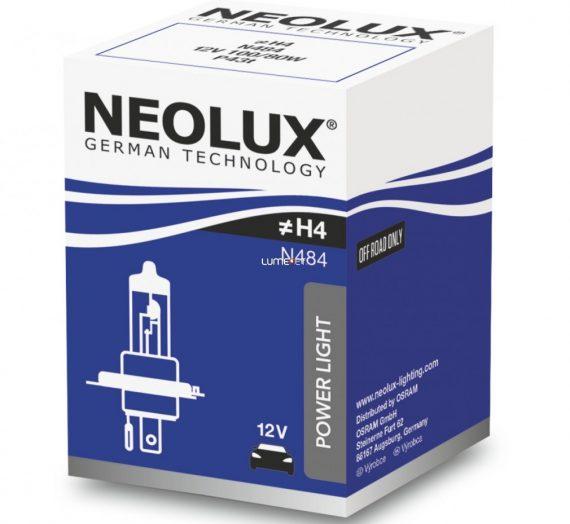 Neolux Power Rally N484 H4 12V offroad izzó