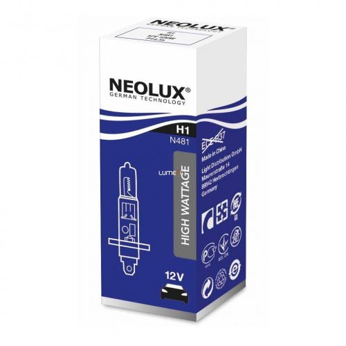 Neolux Power Rally N481 H1 12V offroad izzó dobozos