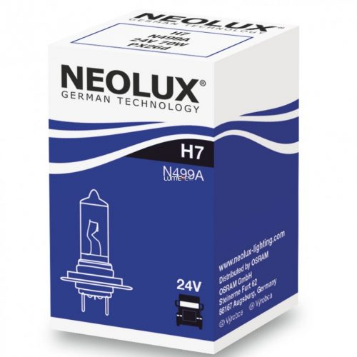 Neolux N499A H7 24V dobozos