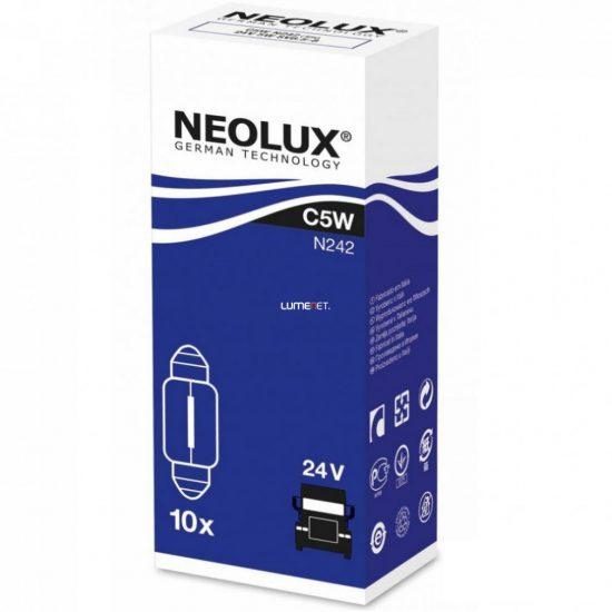 NEOLUX N242 C5W STANDARD 5W 24V SV8.5-8 10db/csomag
