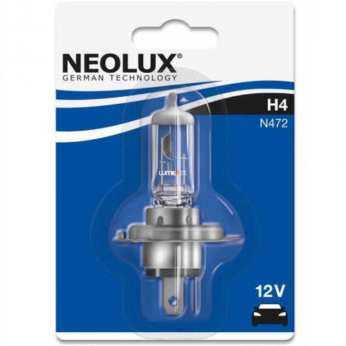Neolux Standard N472 H4 12V P43t bliszter
