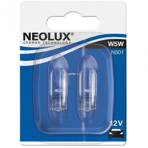 Neolux N501 W5W 12V 2db/bliszter