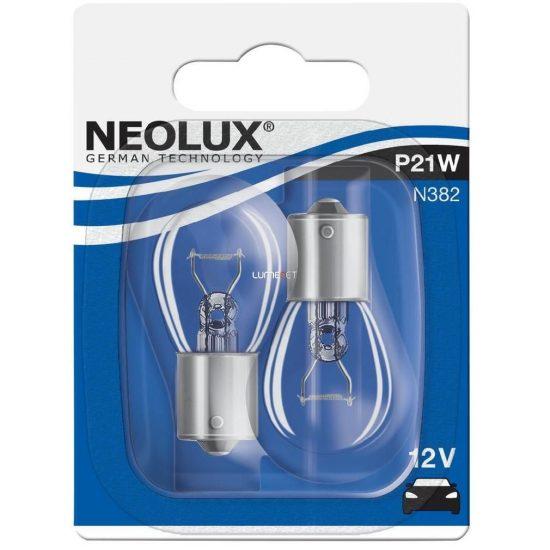 Neolux Standard N382 P21W 12V BA15s