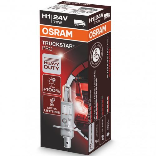 Osram Truckstar Pro 64155TSP H1 24V dobozos
