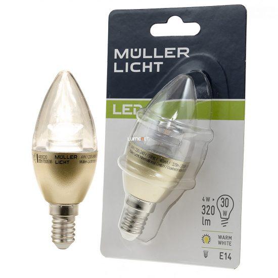 Müller Licht 400020 LED E14 4,5W 2700K 320lm 180° Ra≥80 25000h 35x103mm