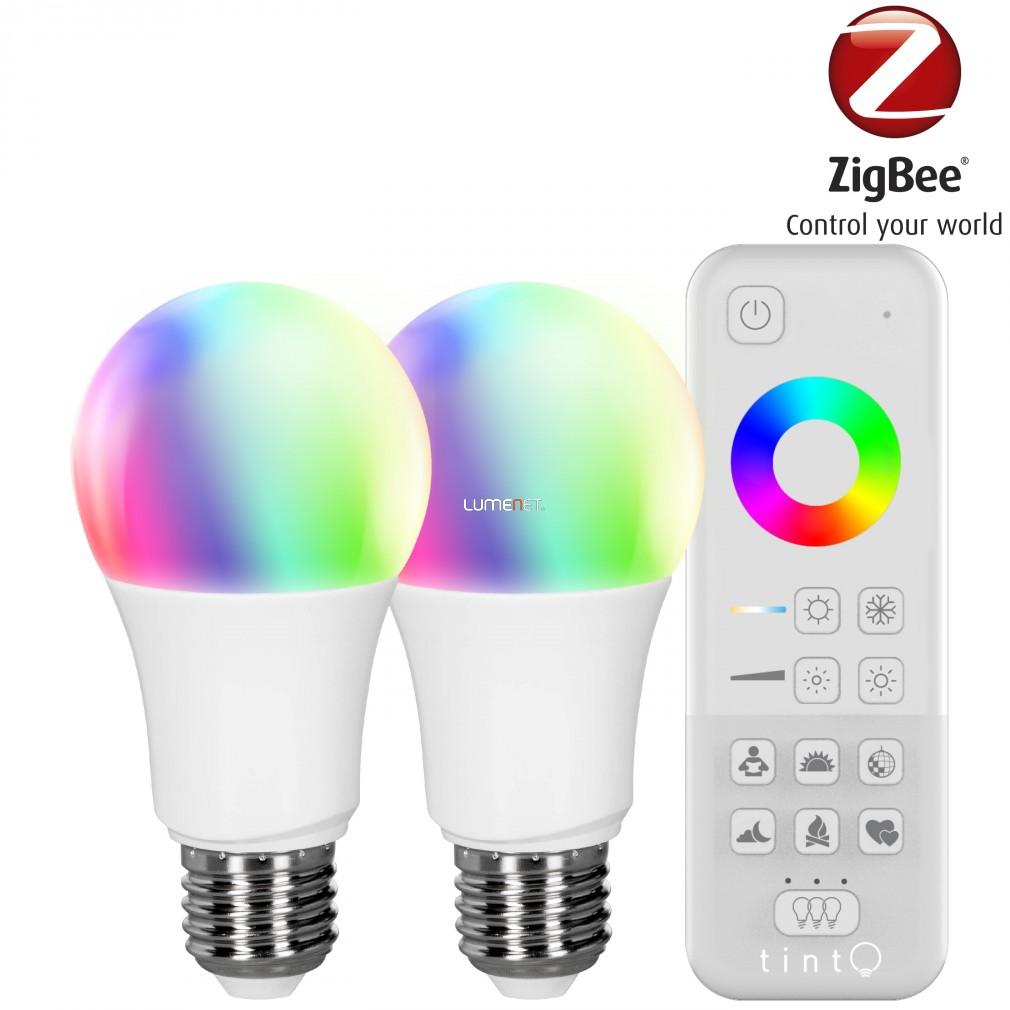 Müller Licht tint 2x 9,5W E27 806lm 2700-6500K +RGB LED + távirányító 404013