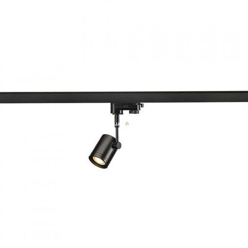 SLV 152240 Bima I 1xGU10, fekete, 3-fázisú sínadapterrel