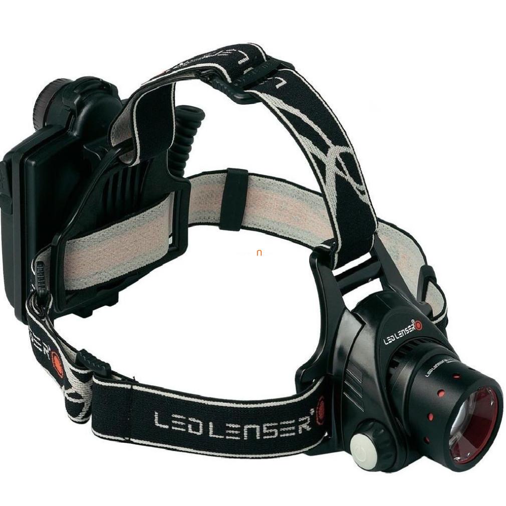 Led Lenser H14R-2-7299-R Led fejlámpa 4xAAA Ni-MH 1000lm
