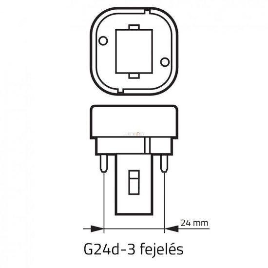 OSRAM Dulux D 26W/840 (21) G24d-3