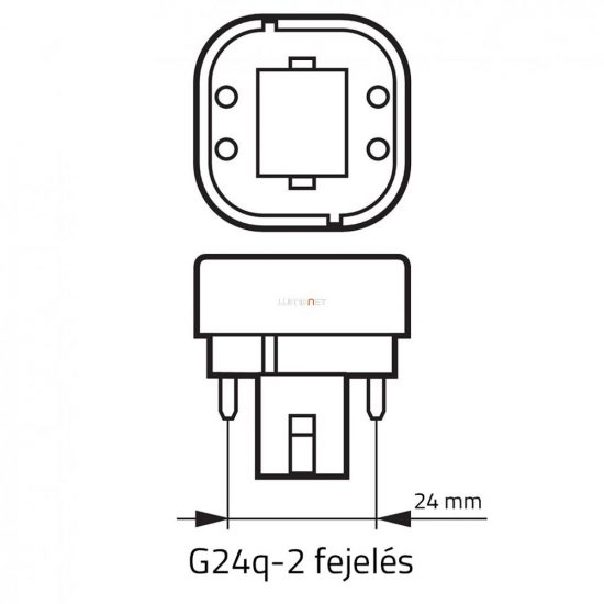 OSRAM Dulux D/E 18W/827 (41) G24q-2