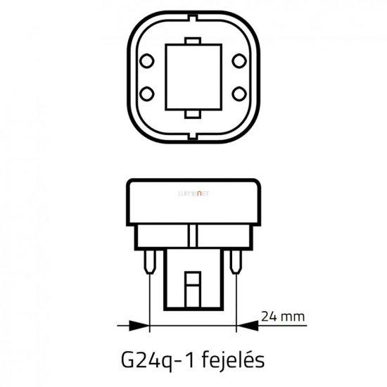 Osram Dulux D/E 13W/840 (21) G24q-1