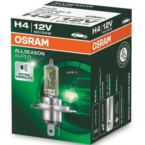 Osram Allseason Super 64193ALS H4 +30%