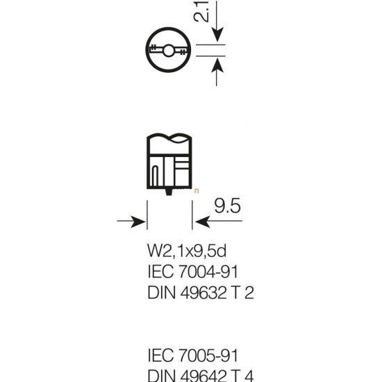 Osram Original Line 2845 W5W 24V