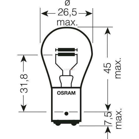 Osram Original Line 7528-02B P21/5W BAY15d