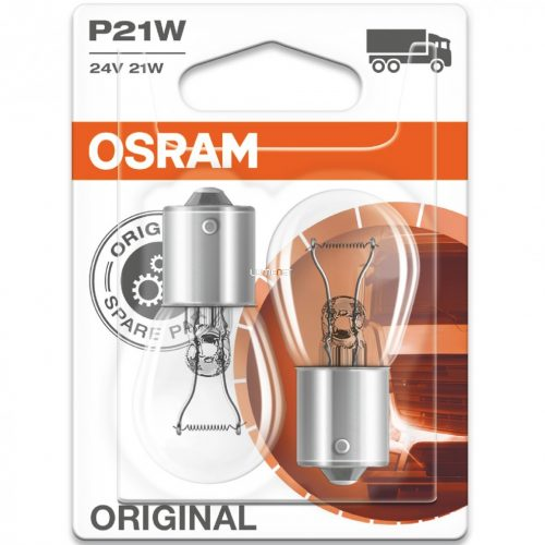 Osram Original Line 7511 P21W 24V jelzőizzó 2db/bliszter