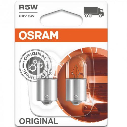 Osram Original Line 5627 R5W 24V jelzőizzó 2db/bliszter