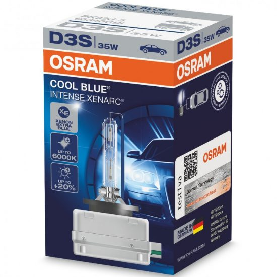 Osram Xenarc Cool Blue Intense 66340CBI D3S