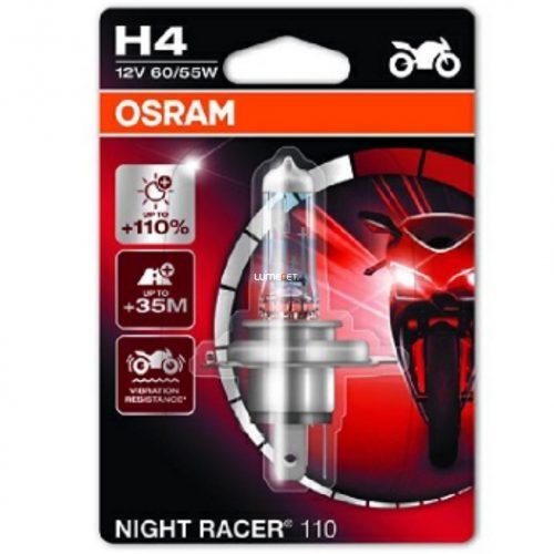 Osram Night Racer 110 64193NR1-01B H4 +110% bliszter