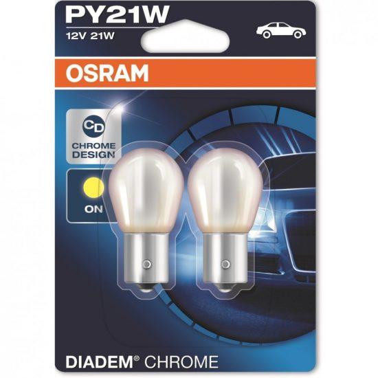 Osram Diadem Chrome 7507DC PY21W BAU15s