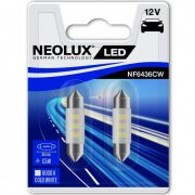 Neolux NF6436CW-02B 12V 6000K 36mm szofita LED