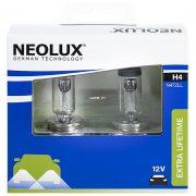 Neolux Extra Lifetime N472LL-SCB H4 12V