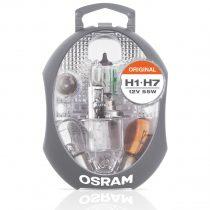 Osram Original H1-H7 12V 55W tartalék izzó csomag