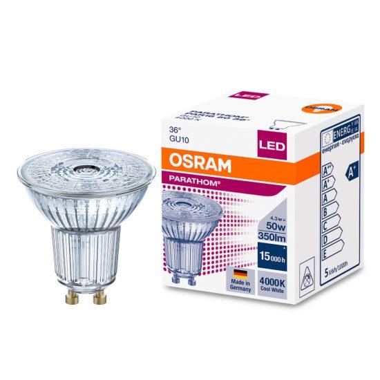 Osram Parathom PAR16 50 36° 4,3W/840 4000K GU10 LED
