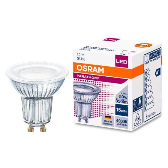 Osram Parathom PAR16 50 120° 4,3W/840 4000K GU10 LED