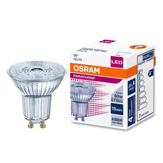 Osram Parathom PAR16 80 36° 6,9W/840 4000K GU10 LED kifutó