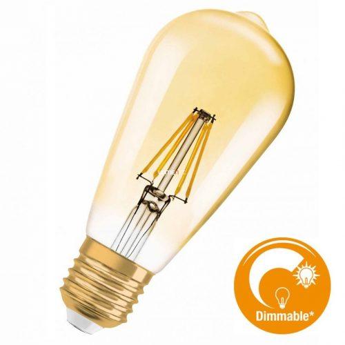 Osram Vintage 1906 Edison 50 Gold 7W 2400K E27 filament DIM LED