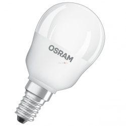 Osram CL P 40 5W/4000K hideg fehér E14 470lm LED 3év gar. - 40 Wattos izzó kiváltására