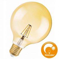 Osram Vintage 1906 Globe 50 Gold 6,5W 2400K E27 filament DIM LED