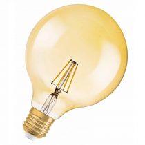 Osram Vintage 1906 Globe 60 Gold 7W 2400K E27 filament LED