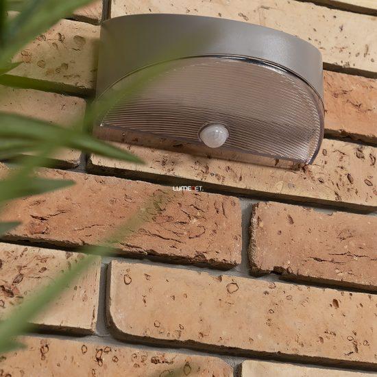Lutec P9015 SI Bread kültéri napelemes fali LED lámpa 1,2W