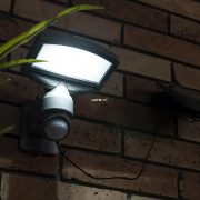 Lutec P9016 SI Sunshine kültéri napelemes LED lámpa 3,2W 4000K