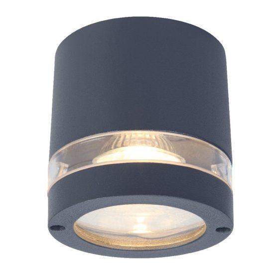 LUTEC 6042 GR FOCUS 1xGU10 max 35W IP44 mennyezeti szürke kültéri lámpa