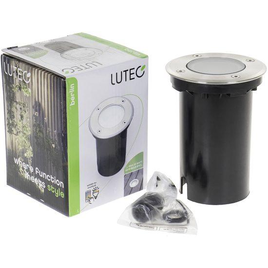 Lutec 7005A Berlin kültéri talajba építhető lámpa 1xGU10
