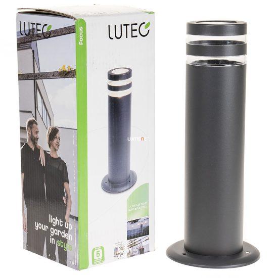 LUTEC 6048 GR FOCUS 1xGU10 max 35W IP44 álló szürke kültéri lámpa